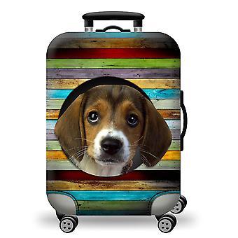 Couverture mignonne de couverture de crabot de valise