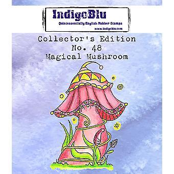 IndigoBlu Collector's Nr. 48 Magiske sopp gummi frimerker