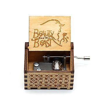 Somewhere Over The Rainbow -  Wooden Music Box