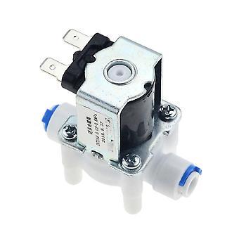 Dispensador do controlador do interruptor de fluxo de entrada de água DC 12v, solenoide elétrico fechado