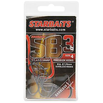 New Starbaits Sb3 Hook No. 4 Fishing Gear  Outdoors Silver