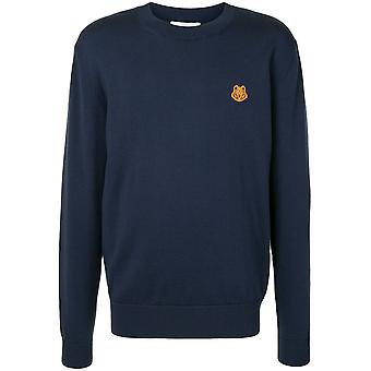 Tiger Crest Crew Neck Sweater