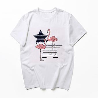 オールザメン 大人 3D プリント ピュア ホワイト 半袖 T シャツ