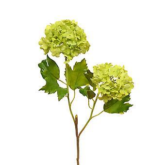 Sztuczna łodyga kwitnąca jedwabiu 55 cm zielona