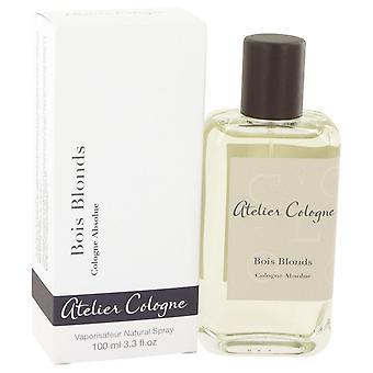 Bois Blonds ren parfym Spray av Atelier Köln 3.3 oz ren parfym Spray