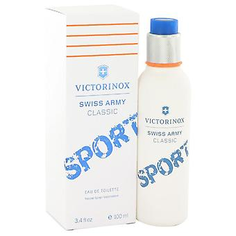 Schweizer Armee Classic Sport Eau De Toilette Spray von Victorinox 3,4 oz Eau De Toilette Spray