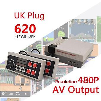 Sisäänrakennettu 500/620/621 Pelit Mini Tv Pelikonsoli 8 Bitti Retro Klassinen Kämmentietokoneet