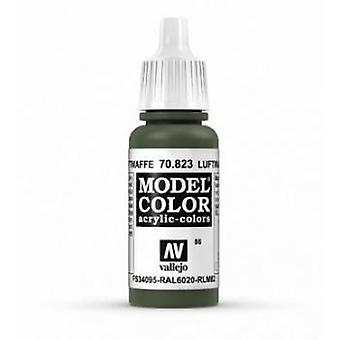 Vallejo Model Color 17ml Acrylic Paint - 823 Luftwaffe Cam