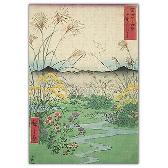 Otsuki Plain In Kai Province Jigsaw Puzzle #6741