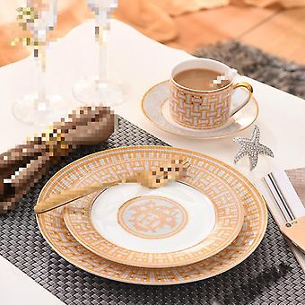 Ceramics Food Plates Western Bone / Tableware Decorations Cups & Saucers