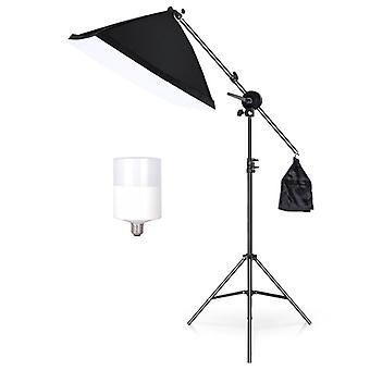 Photo Studio Extension Rod Kit Light Stand Cross Arm With Weight Bag