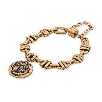 Alex and Ani Godspeed Magnetic Charm Bracelet Rafaelian Gold - Gold Finish - V18MB19RG