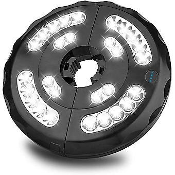 Sonnenschirm Lichter, Sonnenschirm 28 LED Beleuchtung Schnurlose mit 3 Beleuchtungsmodi, Batterie