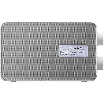 HanFei RF-D30BTEG-W Digitalradio mit Bluetooth (DAB+, UKW, Netz und Batteriebetrieb,