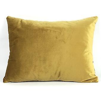 cushion Carola 30 x 40 x 14 cm textile gold