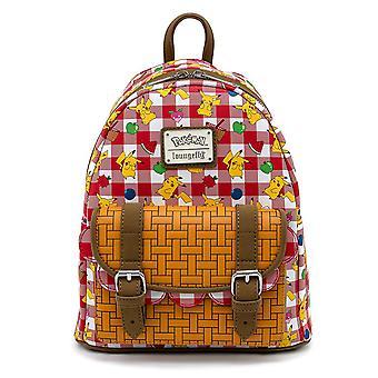 Pokemon Pikachu Picnic Basket Mini Backpack