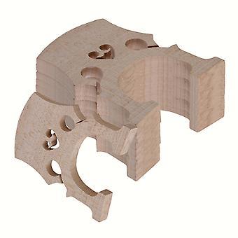 5pcs 4/4 Burlywood Maple Bridge pour violoncelle Strings Wood Full Size