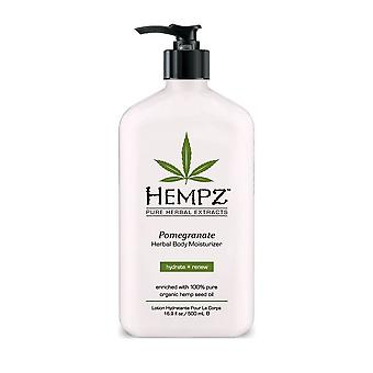 Hempz Pomegranate Hydrate And Renew Herbal Body Moisturizer -500ml