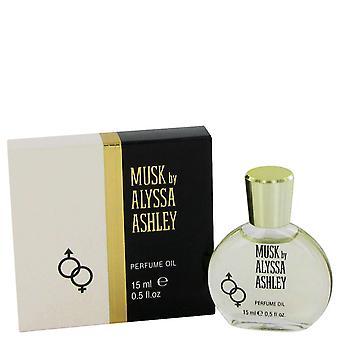Alyssa Ashley Musk by Houbigant Perfumed Oil .5 oz