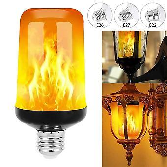 Dynamic Flame Effect Light Bulb - Multiple Mode Creative Corn Lamp
