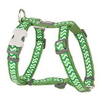 Red Dingo Reflective Harness Ziggy Lima L (Honden , Halsbanden en Riemen , Tuigjes)