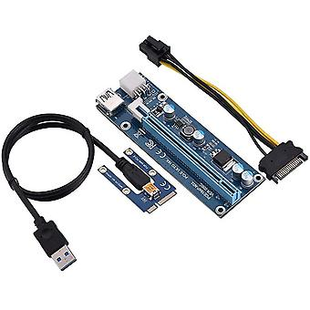 FengChun Mini PCI-E zu PCI Express16x Extender Riser Adapter Mit SATA Netzkabel für Grafikkarten