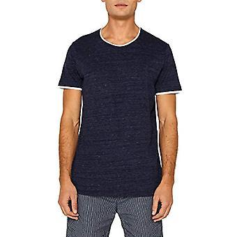 edc by Esprit 059cc2k005 T-Shirt, Blue (Navy 400), Small Man