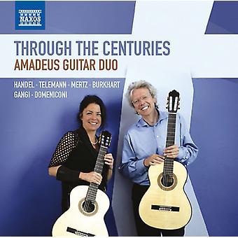 Handel / Mertz / Gangi / Telemann - Through the Centuries [CD] USA import