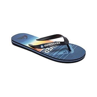 Quiksilver Molokai HighLine slab varvas Sandaalit musta/sininen/sininen
