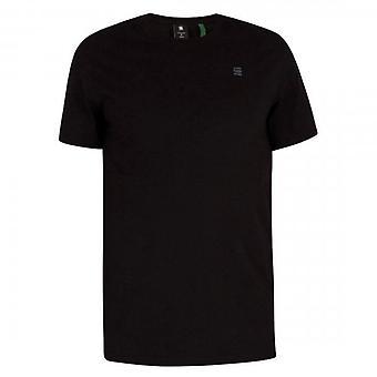 G-Star Raw Base Plain Small Logo T-Shirt Black D16411