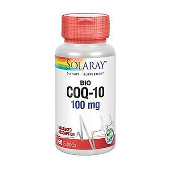 Solaray Bio Q10, 100 mg, 60 Softgels