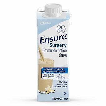 Abbott Nutrition Ensure Surgery Immunonutrition Shake Vanilla Flavor, Case of 15 X 8 Oz