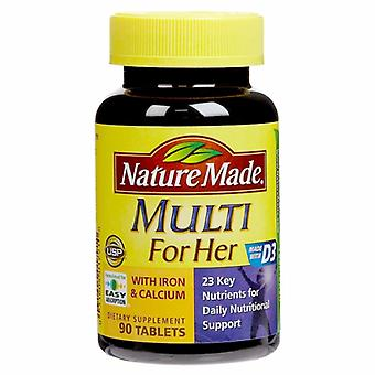 Nature Made Multi Vit & Minerals for Women, 90 Tabs