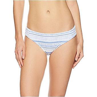 Brand - Mae Women's Swimwear First Mate Smocked Bikini Bottom