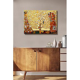 Kanvas Tablo (50 x 70) - 272 flerfärgade dekorativa dukmålning