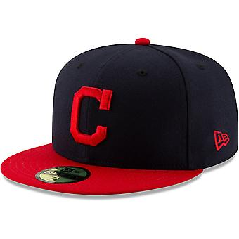 New Era 59Fifty Cap - Autênticos Índios Cleveland on-field