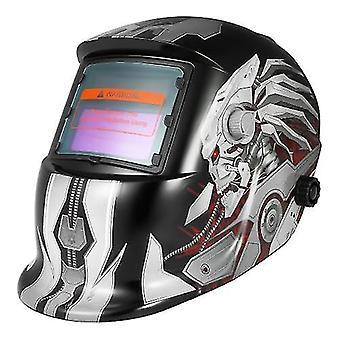 Professional Solar Energy Auto Darkening Welding Helmet Welding Welder TIG MIG Grinding Mask Robot