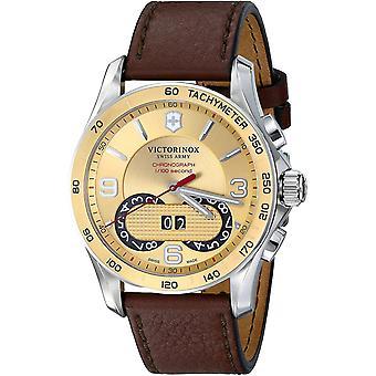 Victorinox Men's Classic Gold Dial Watch - 241617