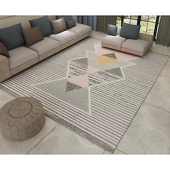 Moderne geometrische rechteckige Teppich Sofa Matte Couchtisch Decke - Bk05 80X160Cm