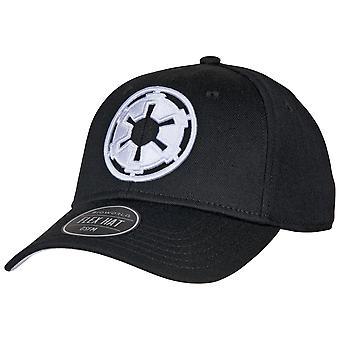 Star Wars Imperial kirjailtu symboli Flex Fit Hat