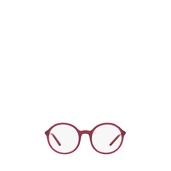 Prada PR 09WV opal bordeaux female eyeglasses