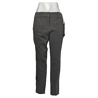 Kirkland Signature Women's Pants Trouser Modern Fit Comfort Gray
