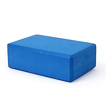 Yoga block skum tegelsten för stretching hjälp, gym, pilates, yoga etc.(Deep Blue)
