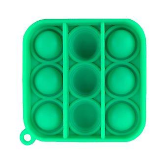 Adulto pop spinge bolla fidget portachiavi sensoriale per alleviare l'anti stress e l'ansia (L)