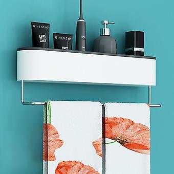Wall-mounted Storage Rack, Bathroom, Towel Rack, Kitchen Storage Rack, Bathroom Accessories, Shower Rack