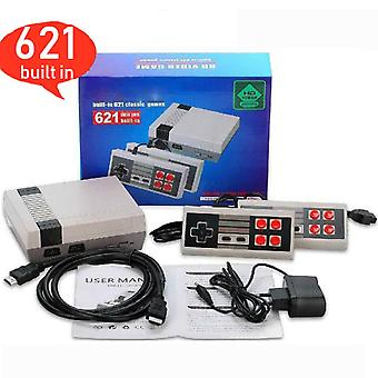 Diikamiiok Nes Tv Game Console, Hdmi Mini High-definition Game Console, Built-in 621 Games