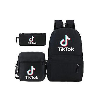 Among Us Backpack Set Printed Primary School Backpack