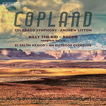 Copland / Colorado Symphony / Litton - Outdoor Overture - Billy the Kid - El Salon [SACD] USA import