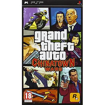 Grand Theft Auto Chinatown Wars Sony PSP spel