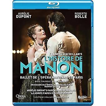 Macmillan's L'Histoire De Manon [Blu-ray] USA import
